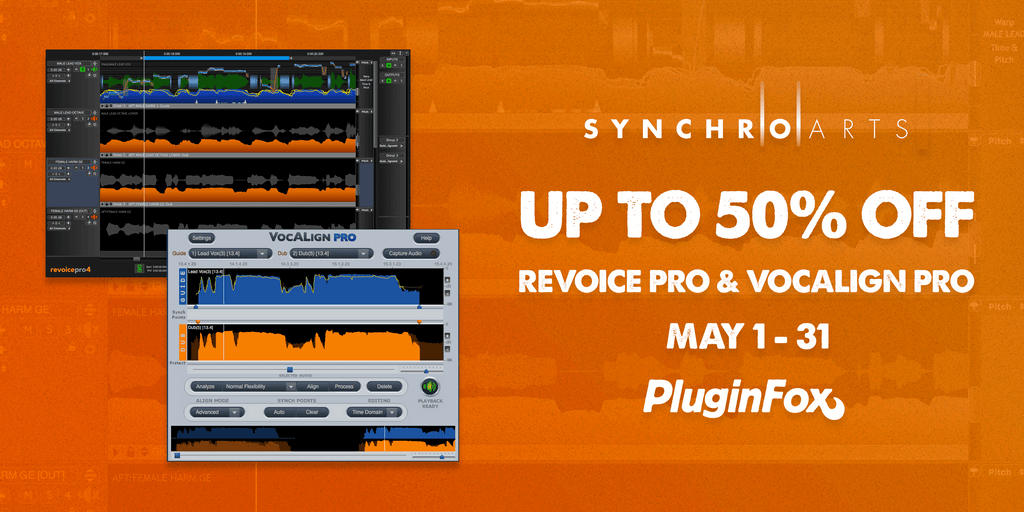 Synchro Arts Pro Sale - May 1-31