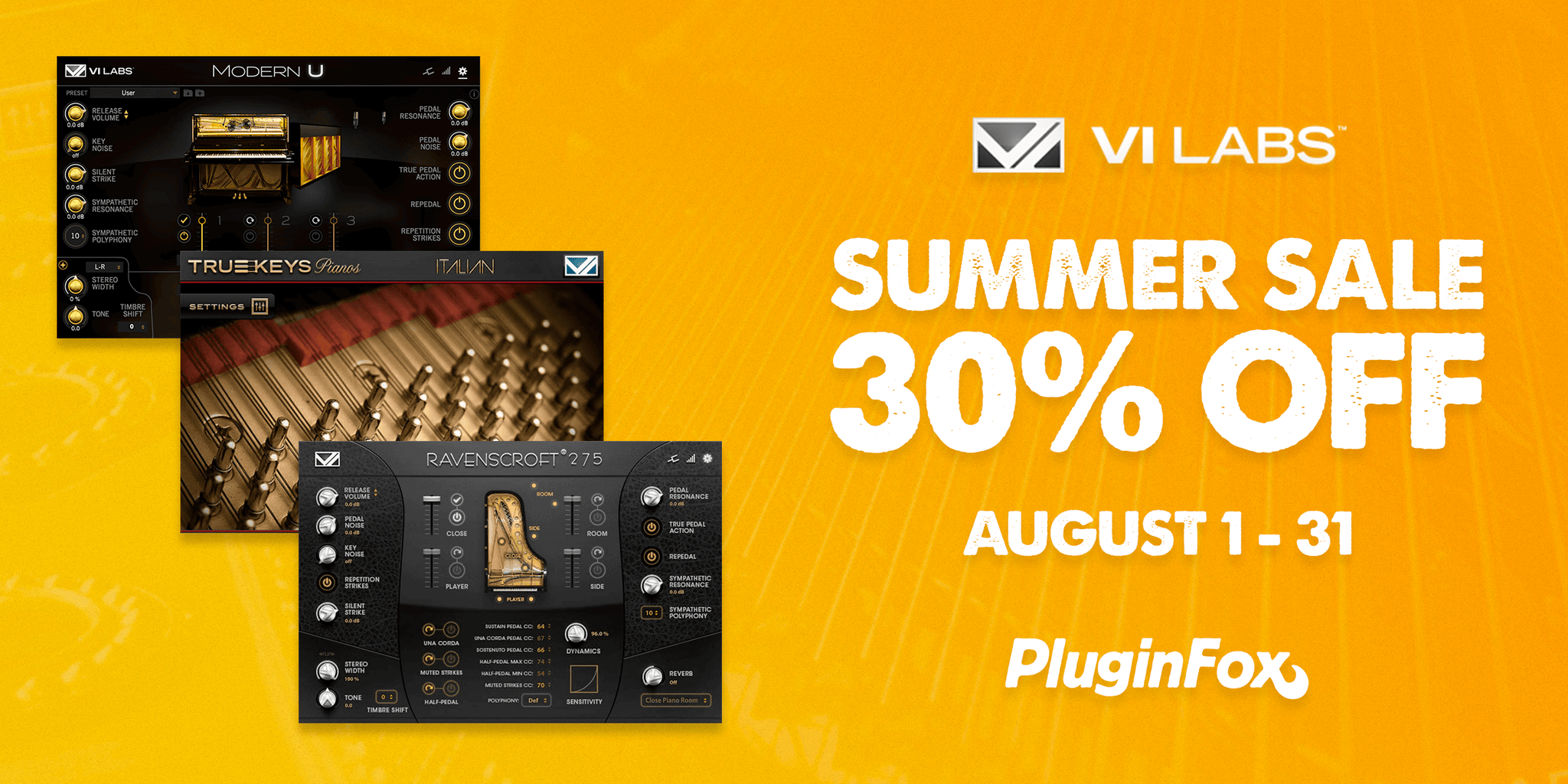 VI Labs Summer Sale - Aug 1-31