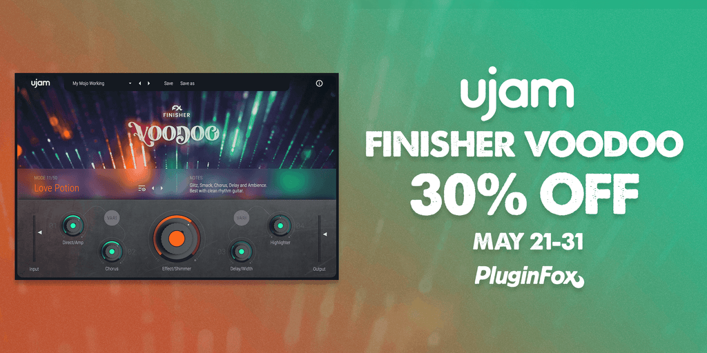 UJAM Intro Sale - May 21-31