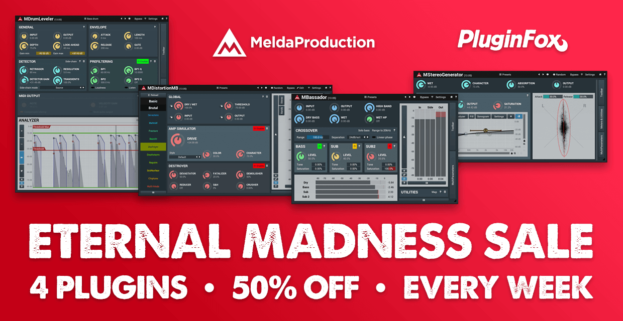 MeldaProduction Eternal Madness Discount Sale October Week 5