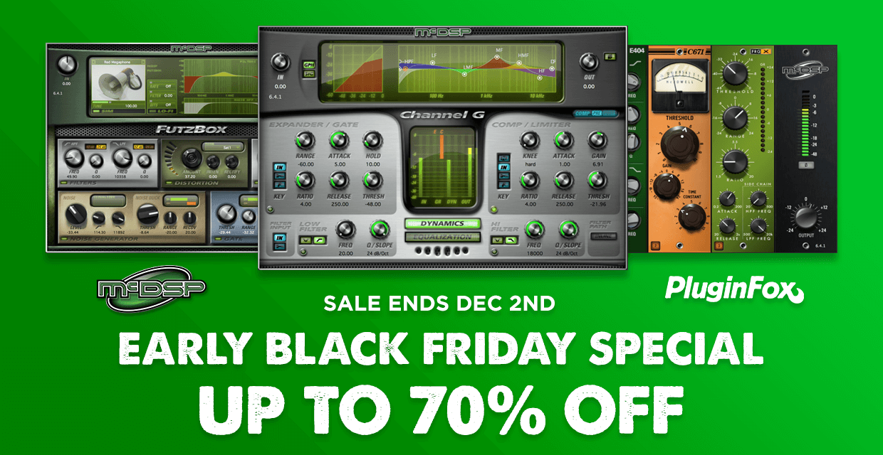 McDSP Early Black Friday Special