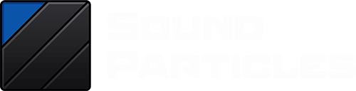 Sound Particles Logo White