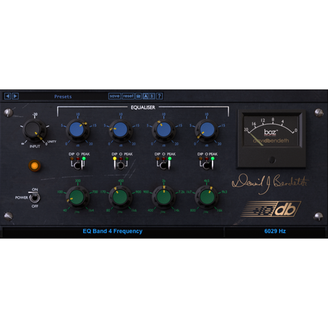 Boz Digital Labs +10dB Equalizer Plugins PluginFox