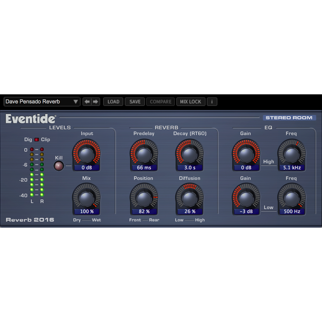 Eventide 2016 Stereo Room Plugins PluginFox