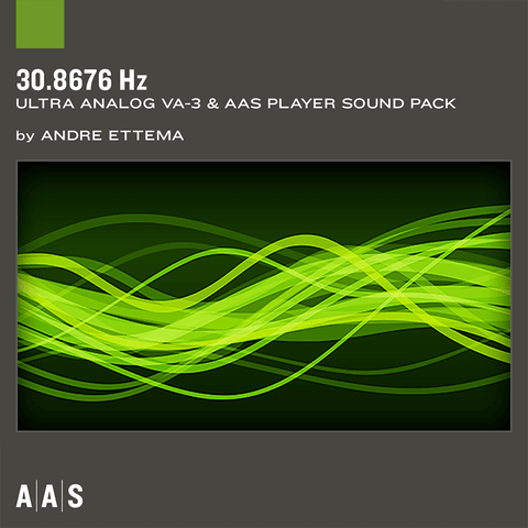 AAS Sound Packs: 30.8676 Hz