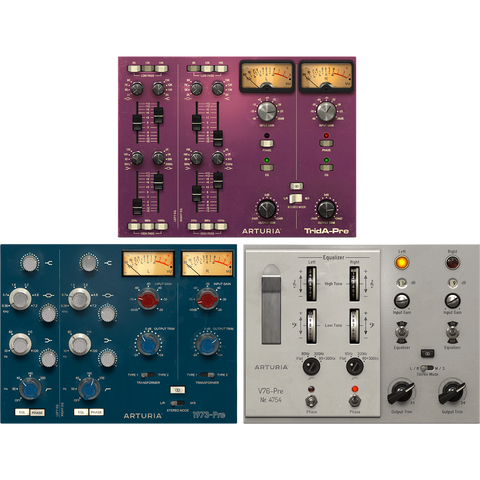 Arturia 3 Preamps You'll Actually Use Plugins PluginFox