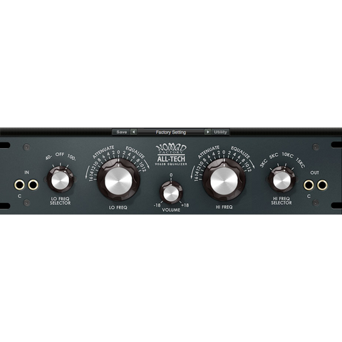 Nomad Factory All-Tech 9063B EQ Plugins PluginFox
