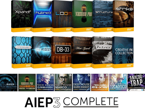 AIR Instrument Expansion Pack 3 Complete Plugins PluginFox