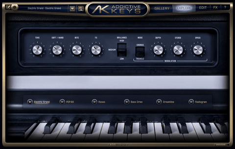 XLN Audio Addictive Keys Electric Grand
