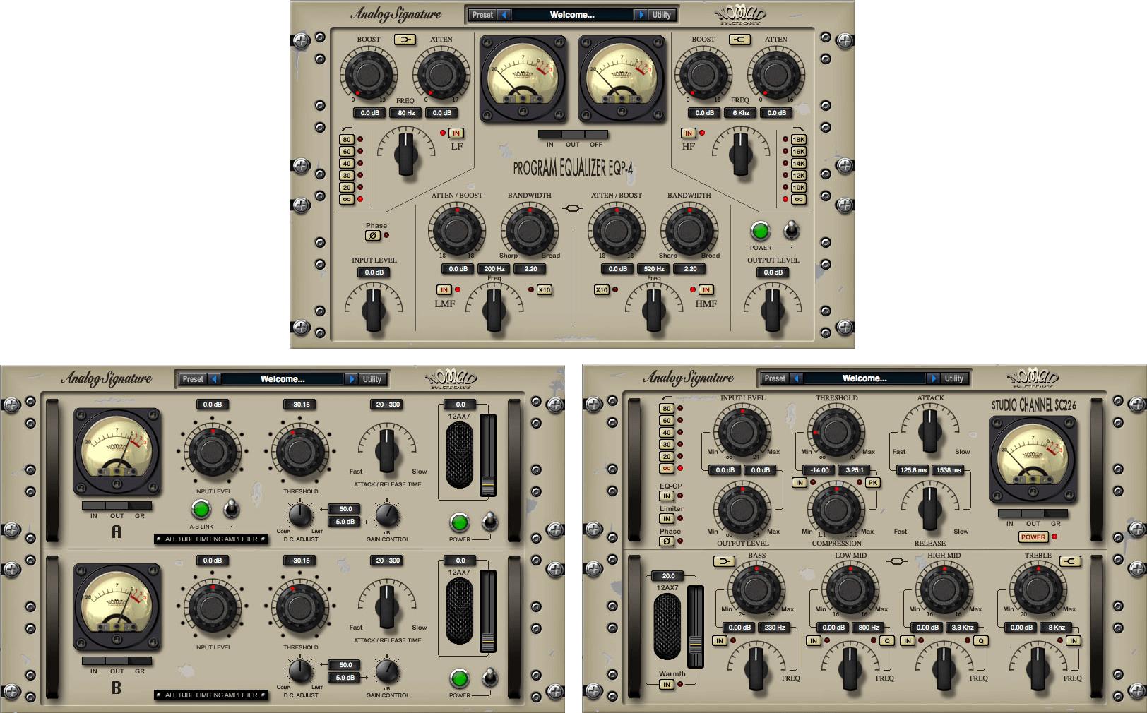 Nomad Factory Analog Signature Pack