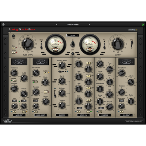 Nomad Factory Analog Studio Rack Plugins PluginFox