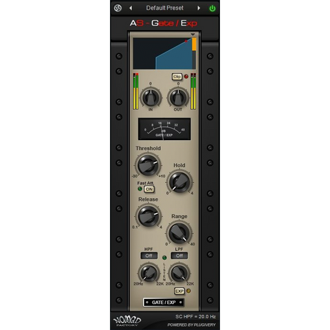 Nomad Factory AS - Gate Expander Plugins PluginFox