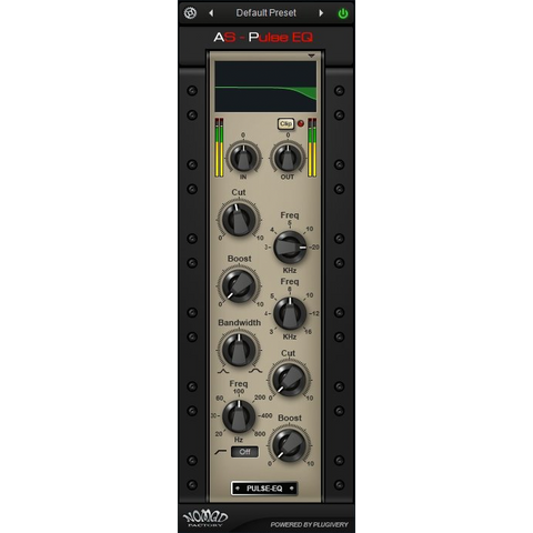 Nomad Factory AS - Pulse EQ Plugins PluginFox