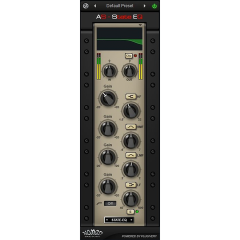 Nomad Factory AS - State EQ Plugins PluginFox
