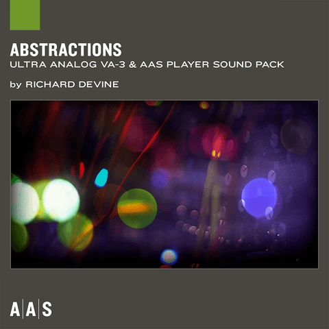 AAS Sound Packs: Abstractions