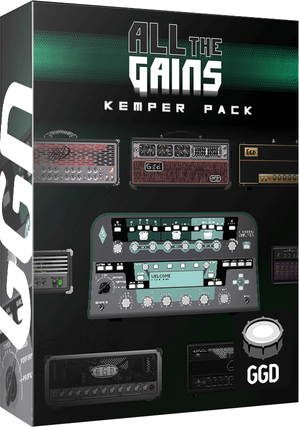 GGD All The Gains Kemper Pack Kemper Profile PluginFox