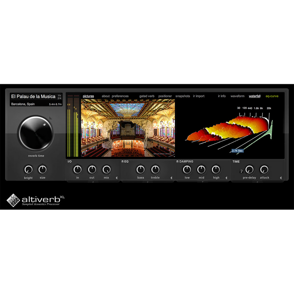 Audio Ease Altiverb 7 XL Plugins PluginFox