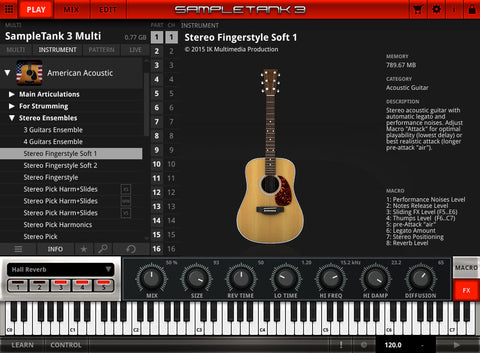 IK Multimedia American Acoustic Virtual Instruments PluginFox