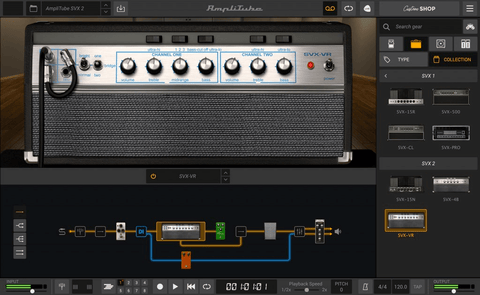 IK Multimedia AmpliTube SVX 2
