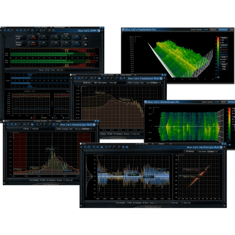 Blue Cat Audio Analysis Pack Plugins PluginFox