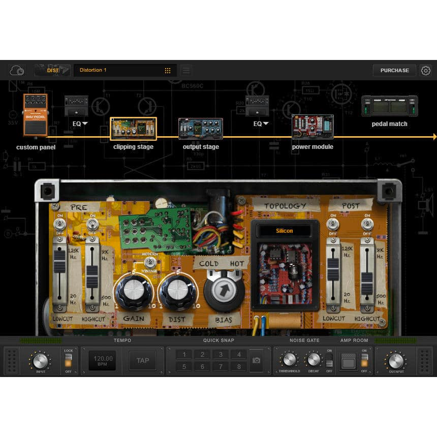 Positive Grid BIAS Pedal Distortion Plugins PluginFox