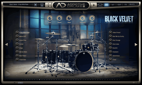 XLN Audio ADpak: Black Velvet