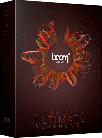 BOOM Library The Complete BOOM Ultimate Surround+
