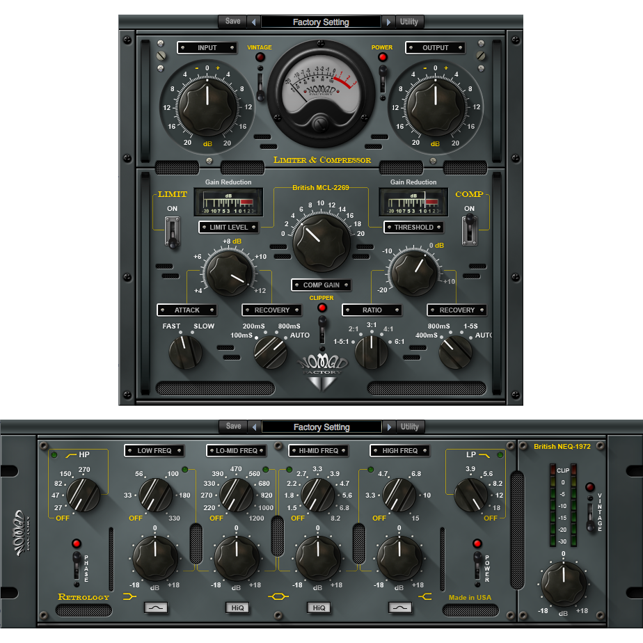 Nomad Factory British Bundle Plugins PluginFox
