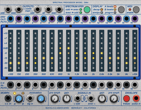 Softube Buchla 296e Spectral Processor for Modular