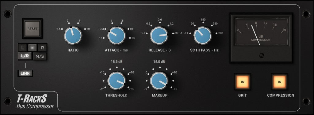 IK Multimedia T-RackS Bus Compressor Plugins PluginFox