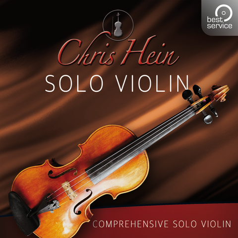 Best Service Chris Hein Solo Violin Extended Kontakt Libraries PluginFox