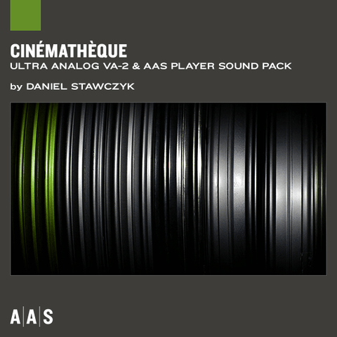 AAS Sound Packs: Cinemateque AAS Sound Packs PluginFox