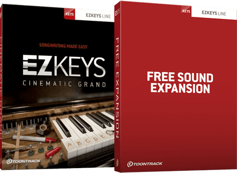 Toontrack EZKeys Cinematic Grand + Free Sound Expansion