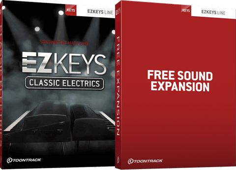 Toontrack EZKeys Classic Electrics + Free Sound Expansion