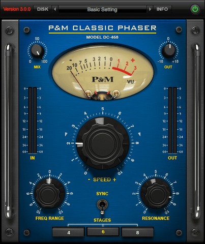 Plug and Mix Classic Phaser