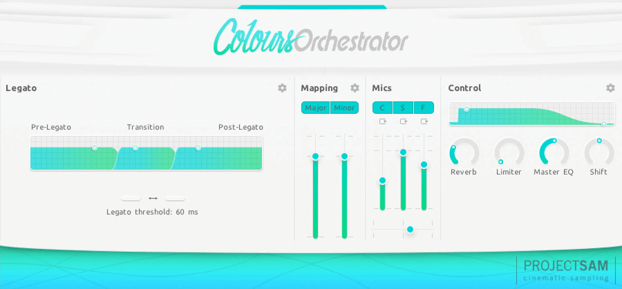 ProjectSAM Colours: Orchestrator