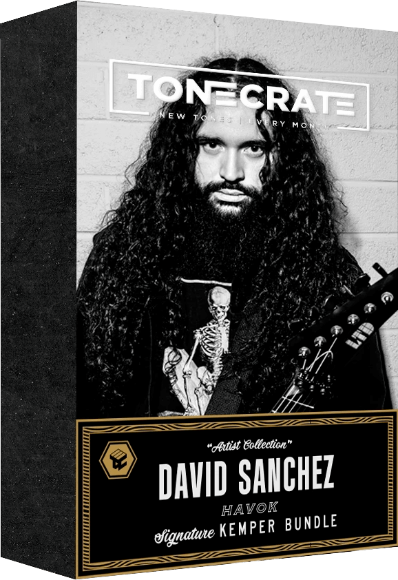ToneCrate David Sanchez Havok Signature Kemper Bundle