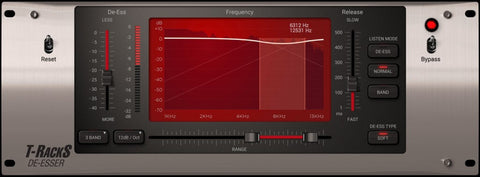 IK Multimedia T-RackS De-Esser Plugins PluginFox
