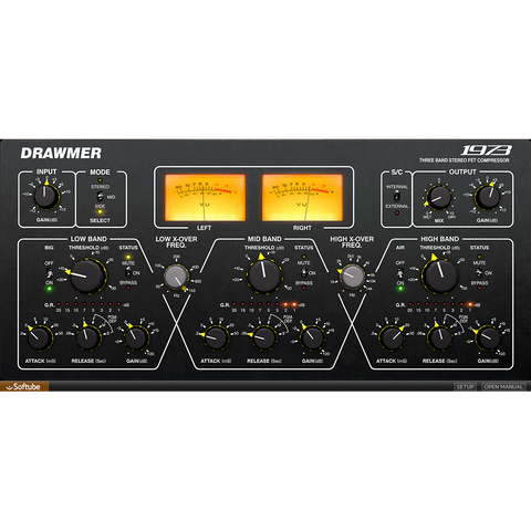 Softube Drawmer 1973 Multiband Compressor