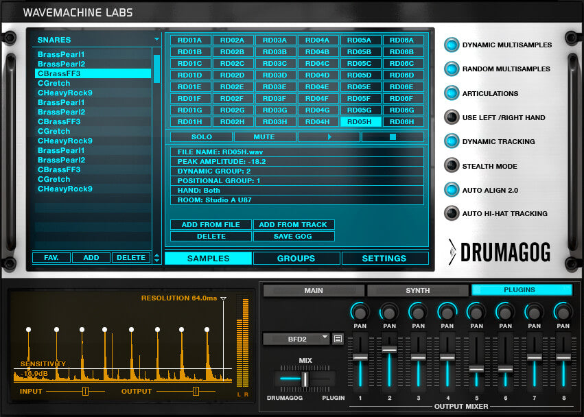 Wave Machine Labs Drumagog 5 Pro