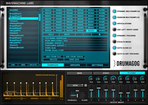 Wave Machine Labs Drumagog 5 Platinum