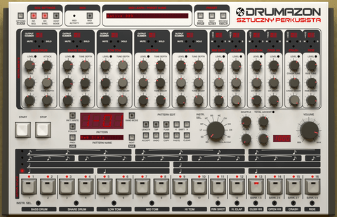 D16 Drumazon Virtual Instruments PluginFox