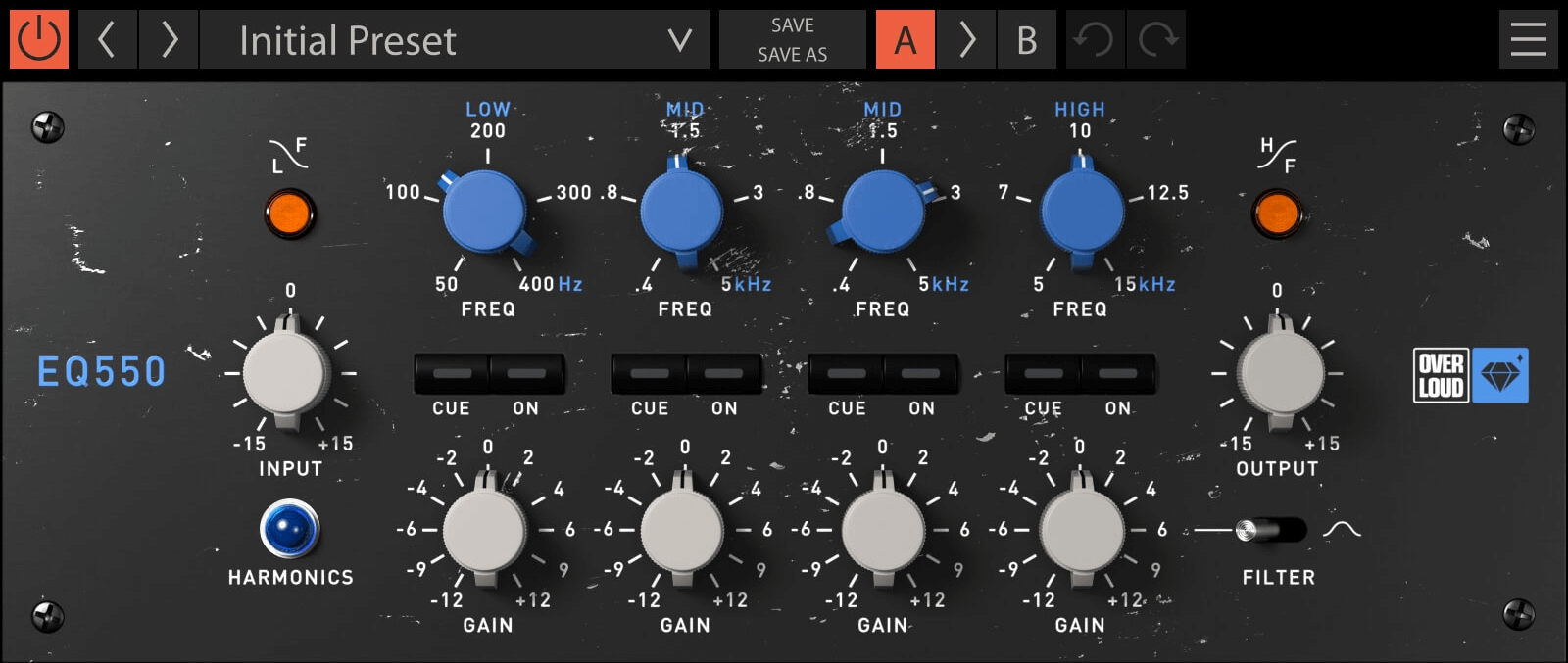 Overloud Gem EQ550