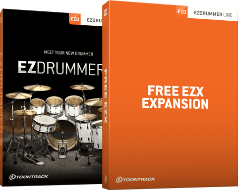 Toontrack EZDrummer 2 + Free EZX Expansion