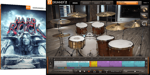 Toontrack EZX: Hard Rock