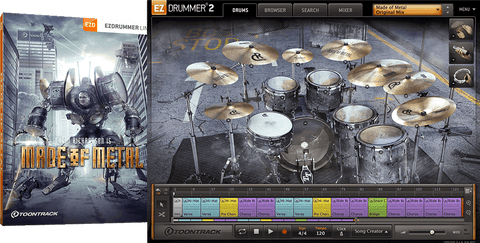 Toontrack EZX: Made of Metal