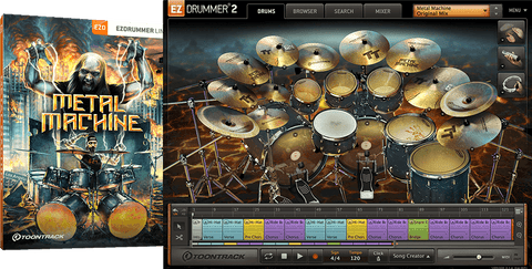 Toontrack EZX: Metal Machine