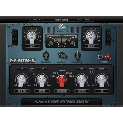 Nomad Factory Echoes Plugins PluginFox