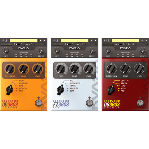 Kuassa Efektor Distortion Bundle Plugins PluginFox