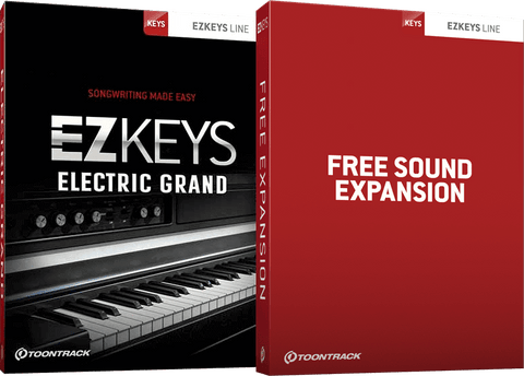 Toontrack EZKeys Electric Grand + Free Sound Expansion